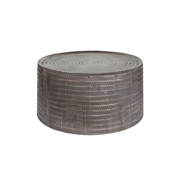 Chrissy Coffee Table Brass Coffee Table Round Wood Coffee Table