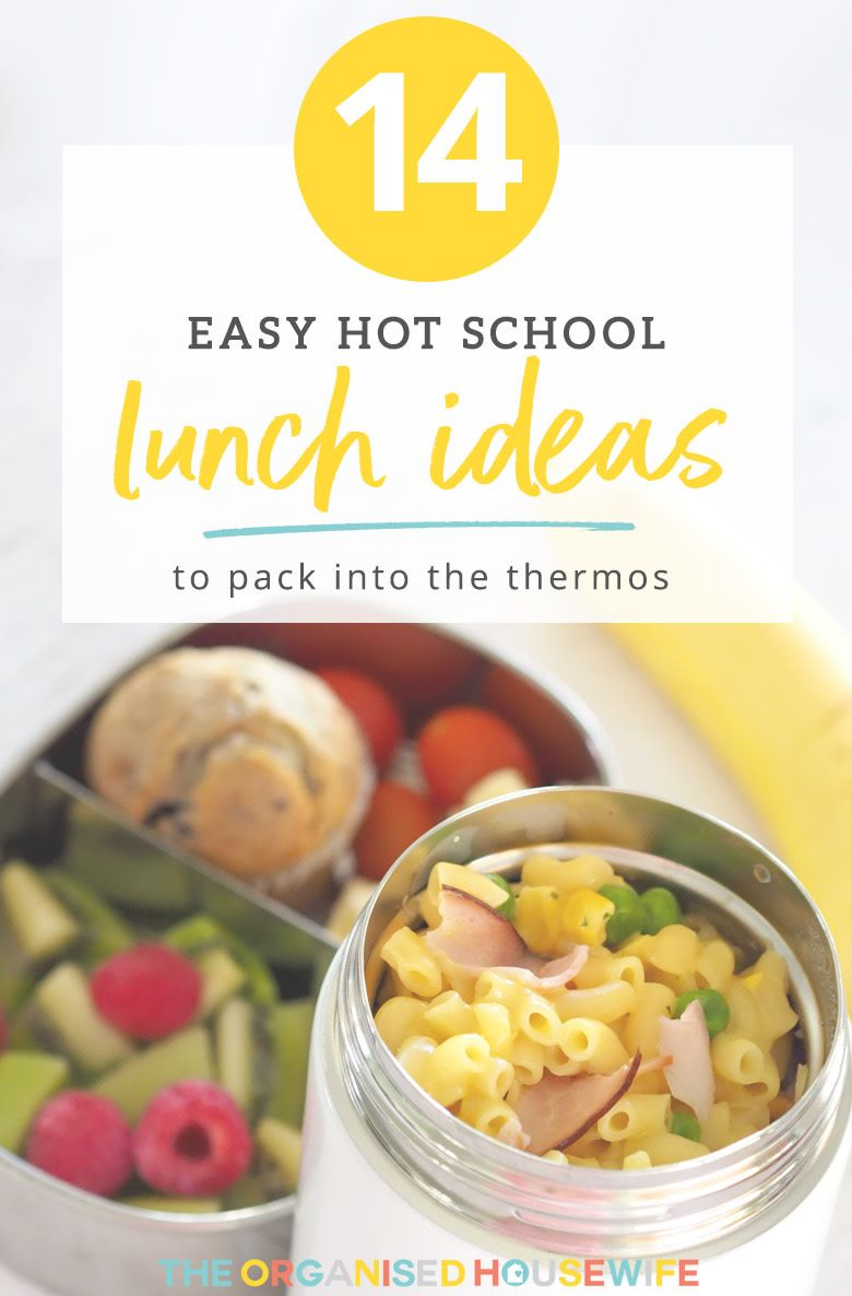 14 Hot Lunch Ideas You Can Pack the Kids for School images