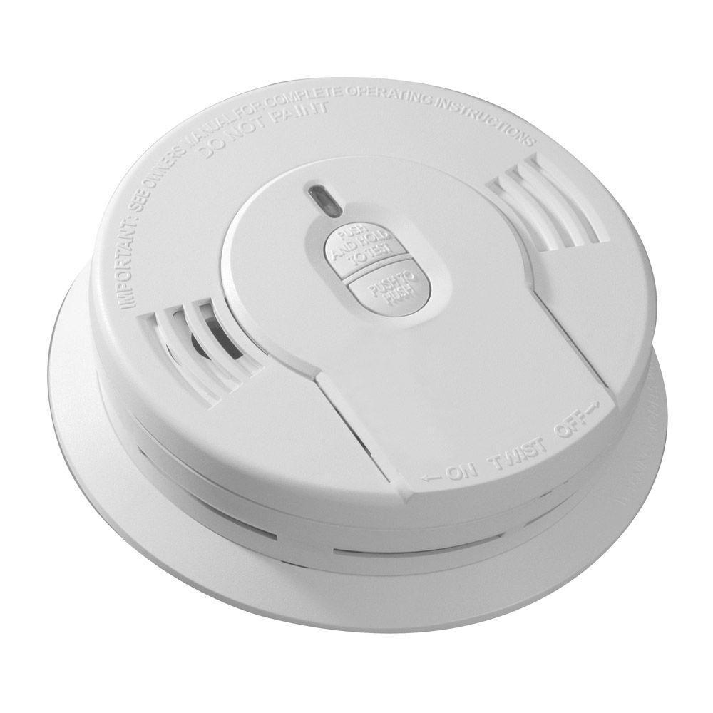 Kidde Code One 10 Year Sealed Battery Smoke Detector With Ionization Sensor 21028780 The Home Depot Smoke Detector Smoke Alarms Smoke Detectors