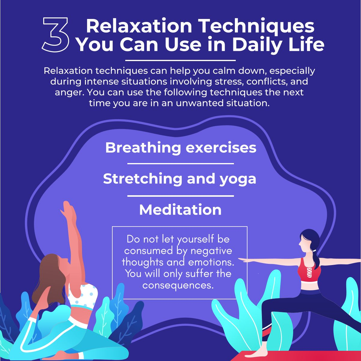 3 Relaxation Techniques You Can Use In Daily Life