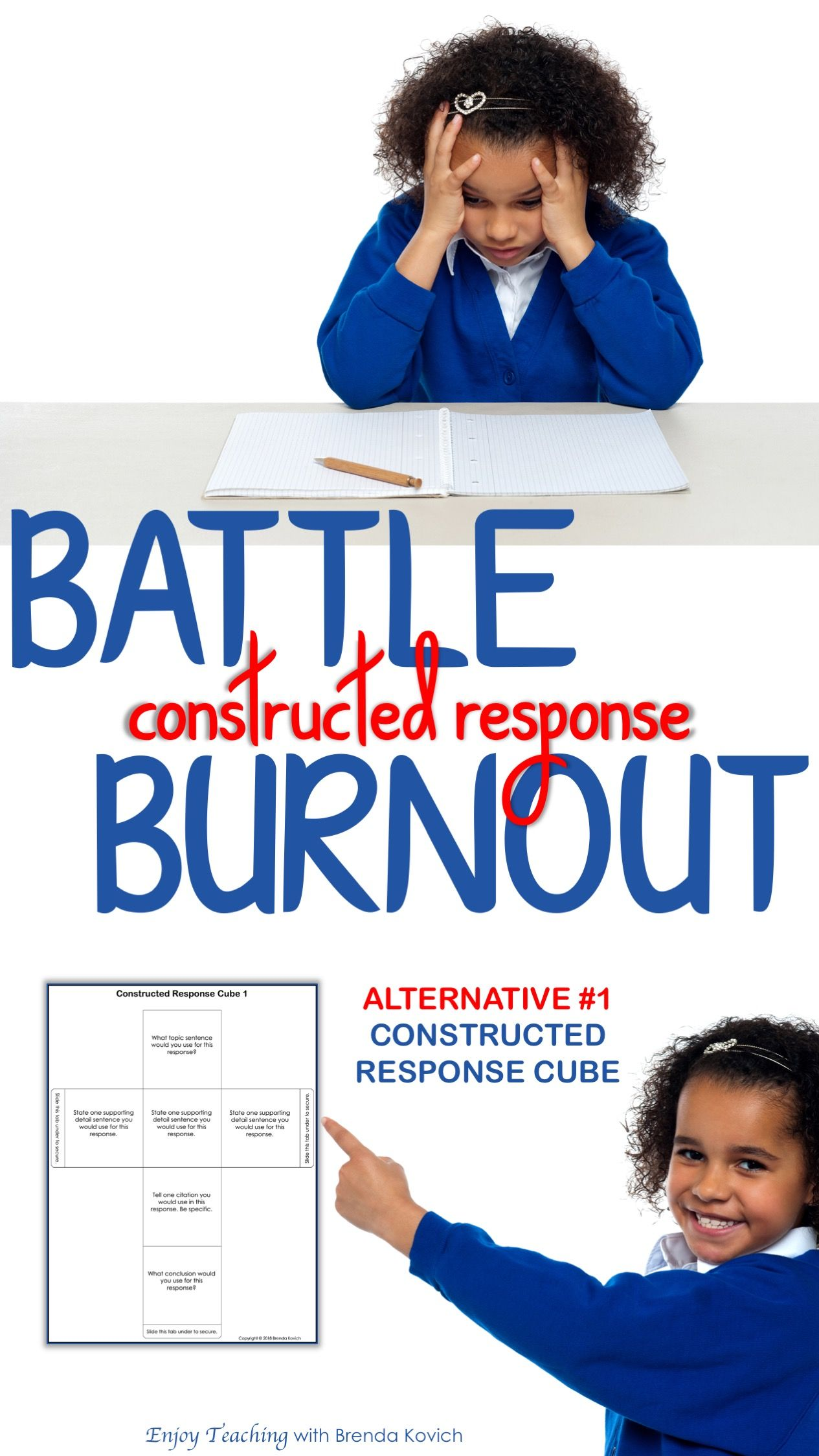 How To Build A Simple Constructed Response Cube