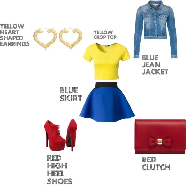 """Kelsey Reuter Fashion Primary Colors"" by kelsey-reuter on Polyvore"