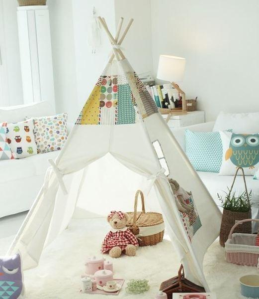 kinder tipi zelt spielhaus kinderspielzelt von forbabies auf interior inspiration. Black Bedroom Furniture Sets. Home Design Ideas