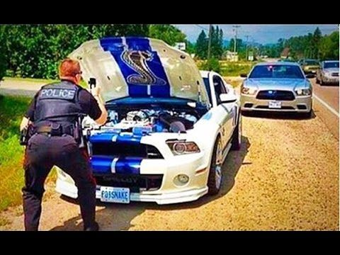Street Racers VS Police Compilation INSANE FAIL WIN HD Cops - Sports cars vs police
