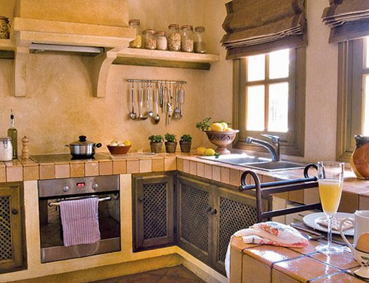 Decoraci n de cocinas peque as r sticas casa pinterest - Decoracion cocina rustica ...