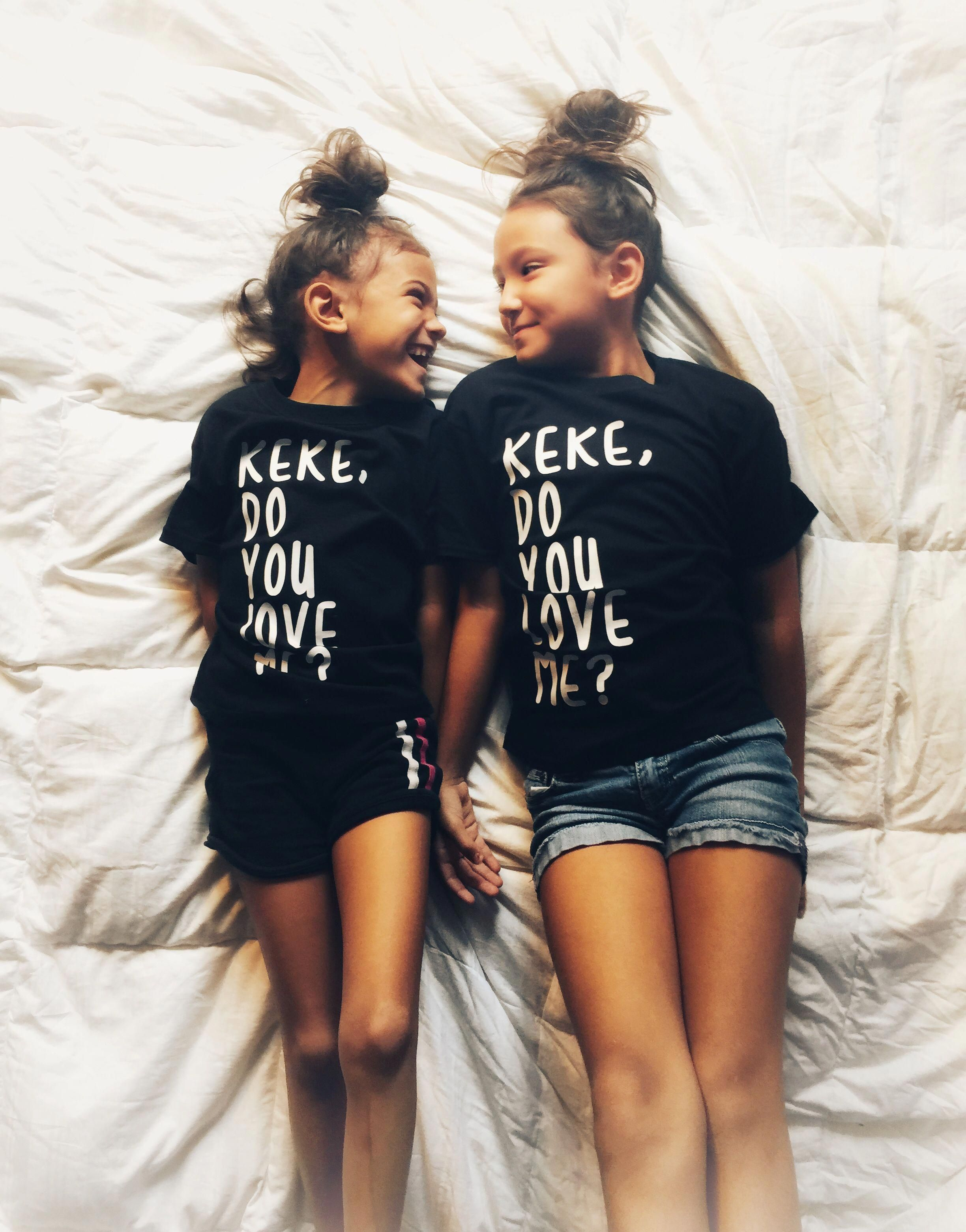 Sisters Drake shirts Hipster kid style Streetwear Monochrome kids Shirt from  infant to adult on sale