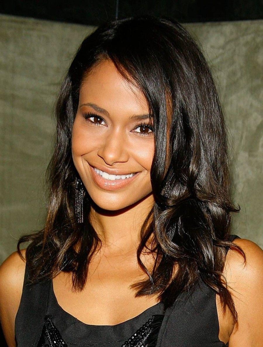 Image result for black hairstyles for medium hair hair pinterest