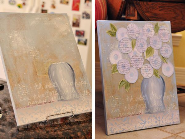 Bridal Shower Painting Guest Book