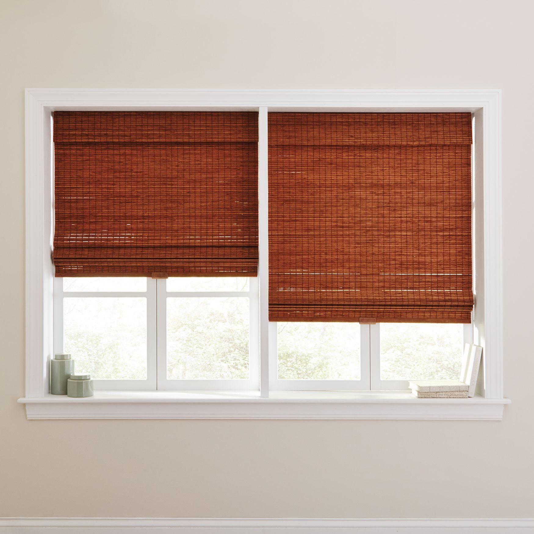 Cordless Bamboo Shade Bamboo Shades Modern Blinds Shades Blinds