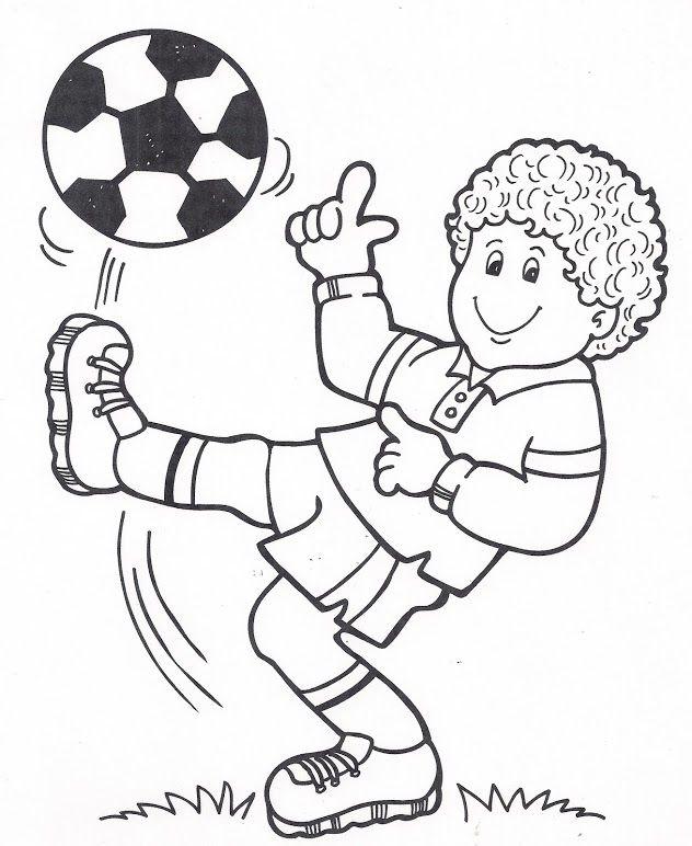 Quatang Gallery- Kleurplaat Voetbal Kleurplaten Sportdag