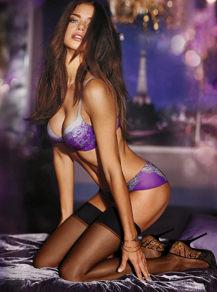 Adriana lima hair extensions-9901