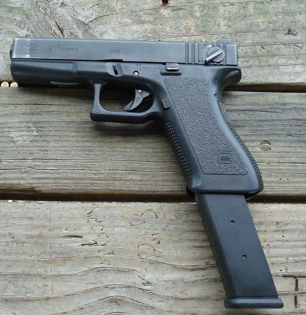 glock 18 | Also, the glock 18 is 9mm, not 10mm, slide should read as ...