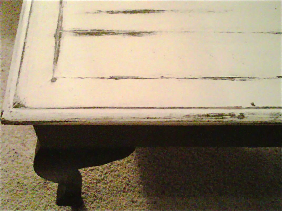 Distressed Painted Coffee Table By Mrshinescl