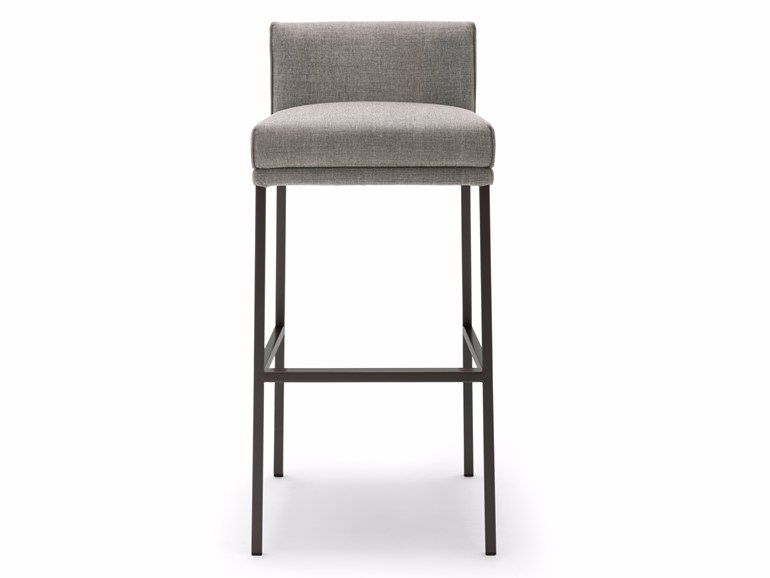 Fabric Counter Stool With Footrest Rolf Benz 651 Counter Stool