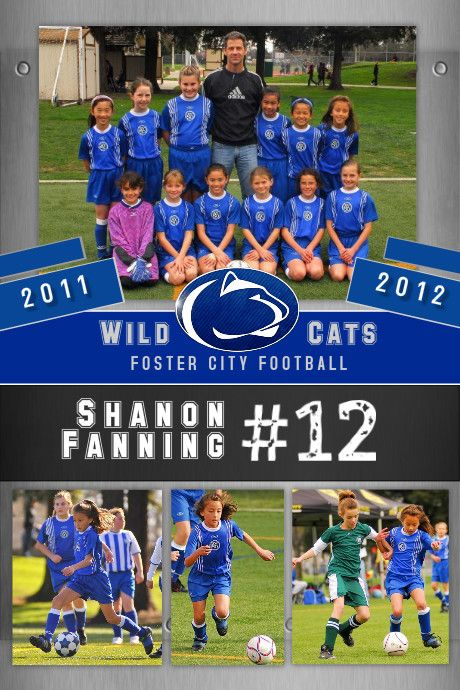 Celebrate Sports Achievements With Stunning Posters Of The Team And Individual Players Use Our Soccer Poster Template Soccer Poster Soccer Pictures Soccer Pro