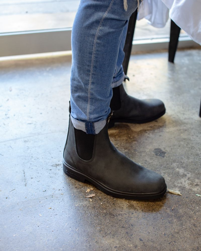 Blundstone 1308 Boot Rustic Black Blundstone Boots Urban Style Boots Mens Boots Fashion