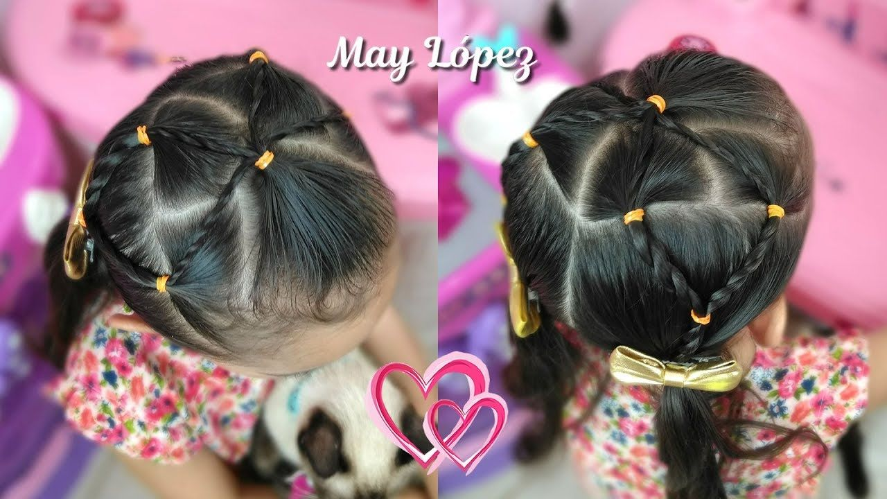 Peinado Facil Para Pelo Corto Peinado Para Ninas May Lopez