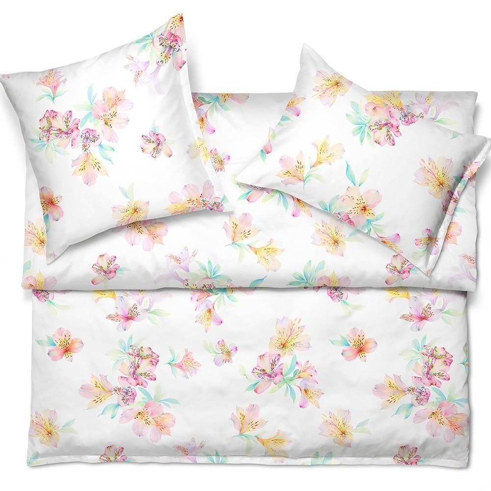 Schlossberg Bed Linen Ida Bleu Sateen Linen Bedding Best