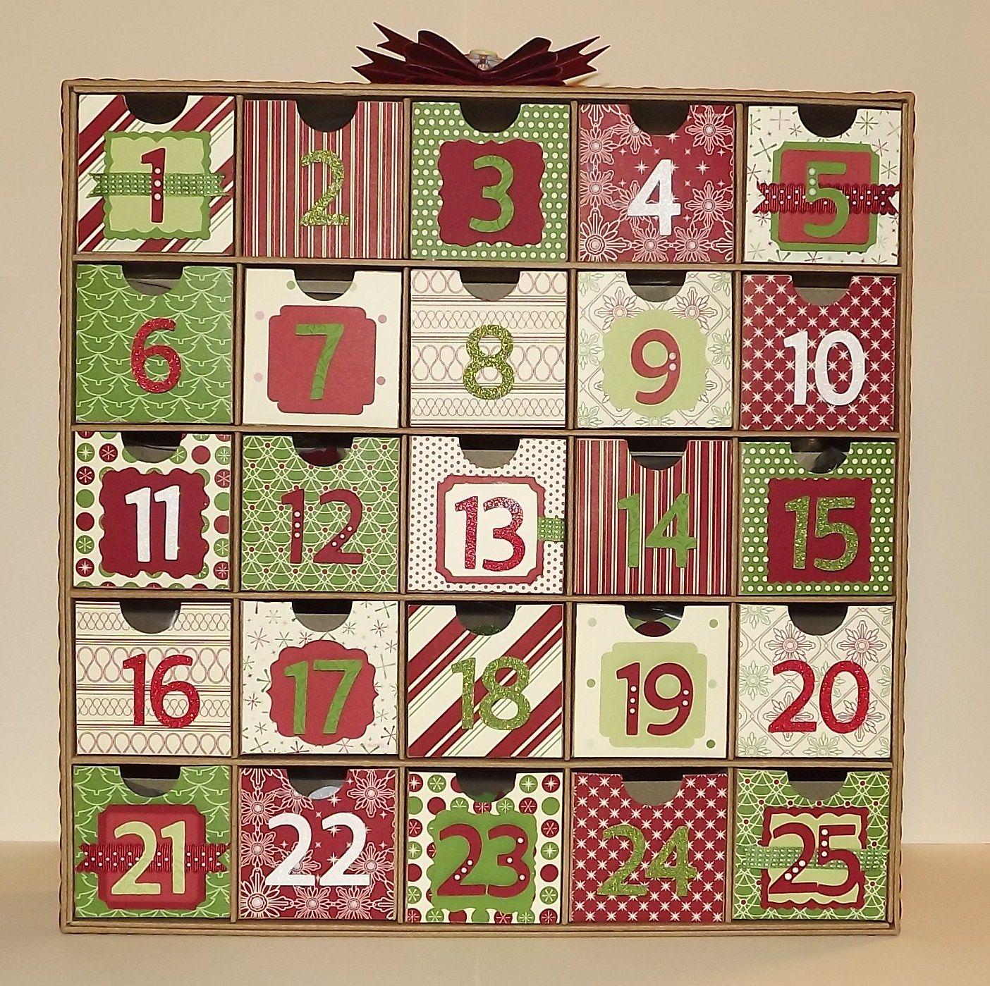 Tamra's Crafty Paper Creations: Christmas Advent Calendar ...