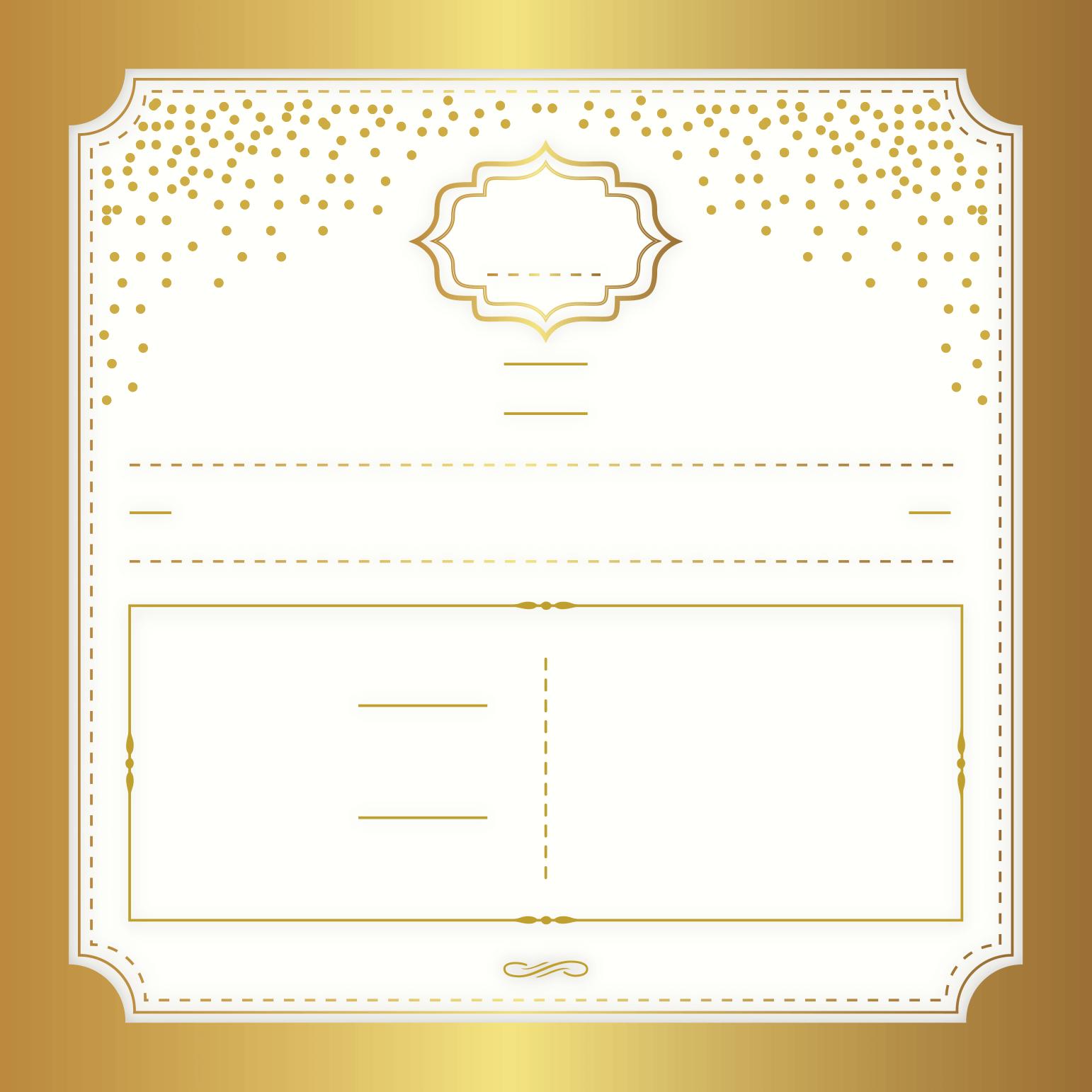 Gold elegant free printable wedding invitation template gold elegant free printable wedding invitation template greetings island kristyandbryce Choice Image