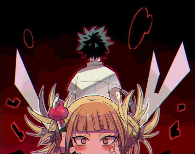 Boku No Hero Academia Midoriya Izuku Himiko Toga Hero Toga My Hero