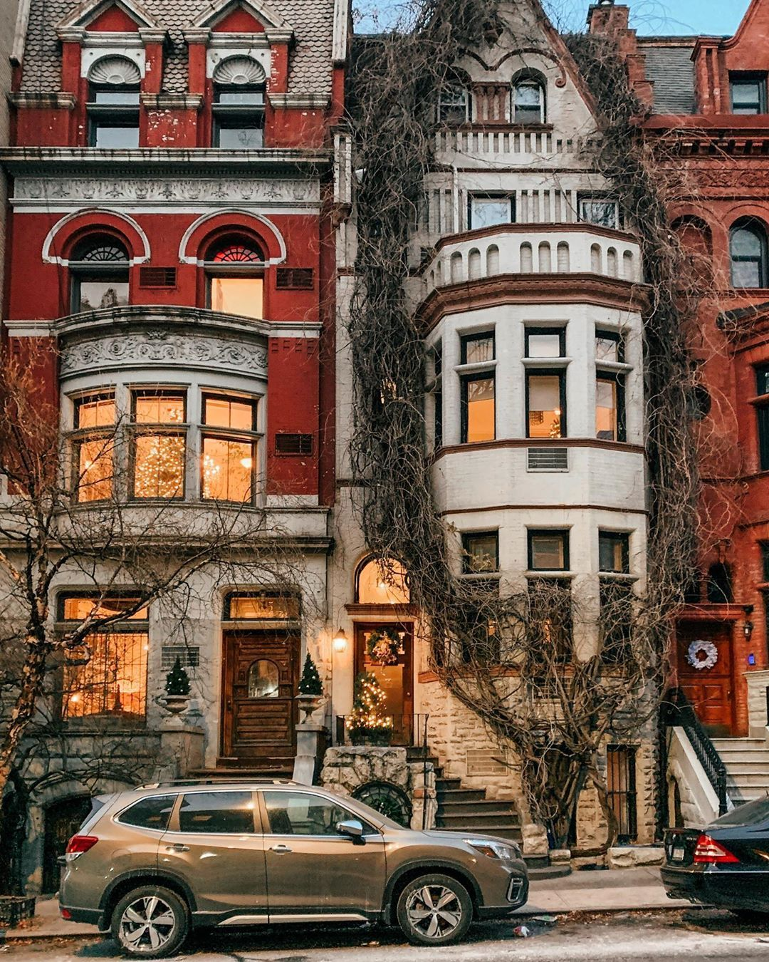 Christmas Trees 2020 Upper Manhattan Pin by M on building in 2020 | New york travel, Upper west side