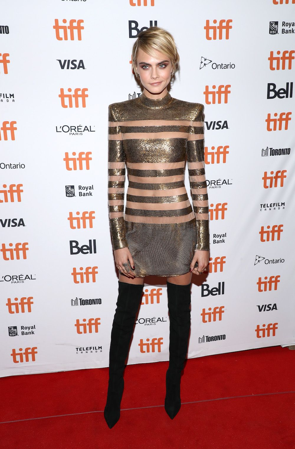 The BestDressed Celebrities on the 2018 TIFF Red Carpet