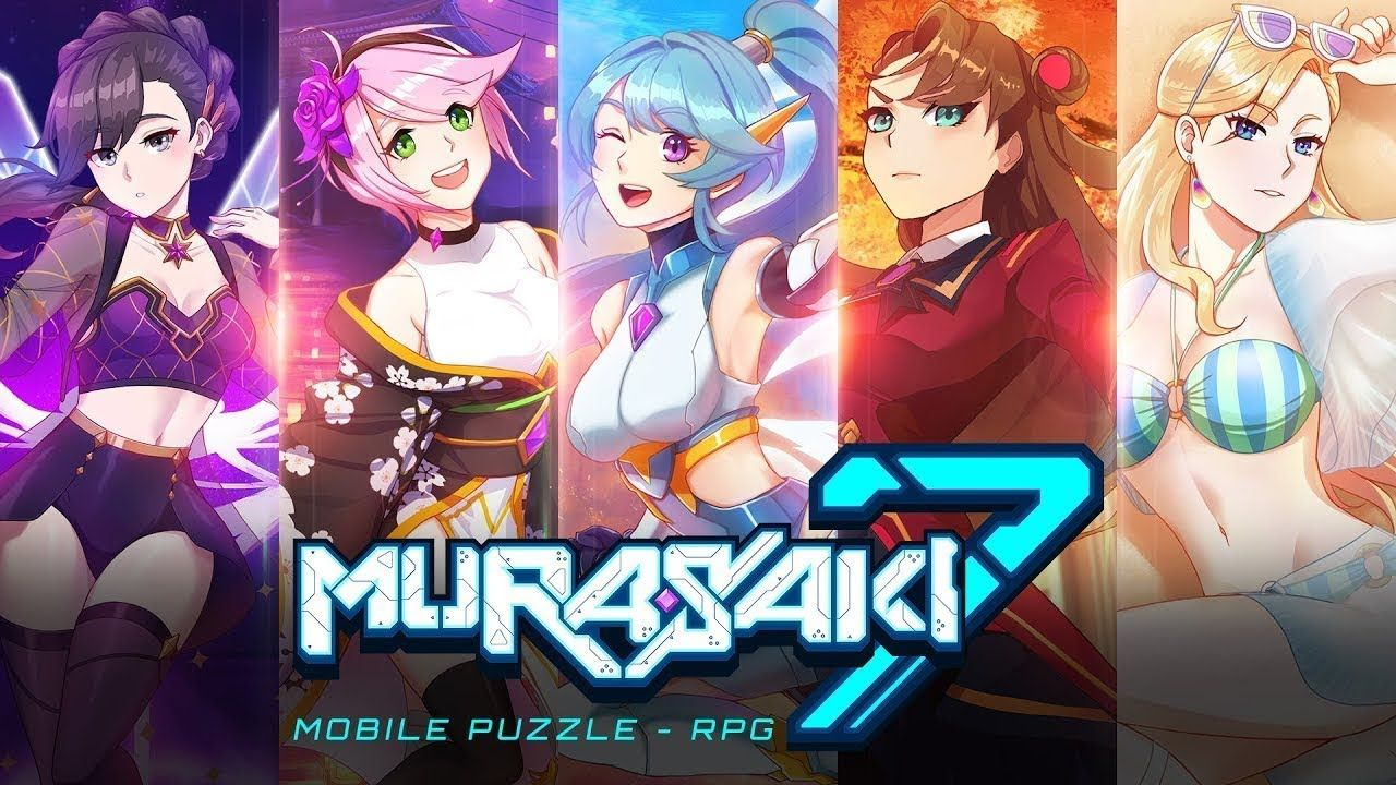 Murasaki7 Anime Puzzle Rpg Android Game First Look Gameplay Espanol Anime Rpg Android Games