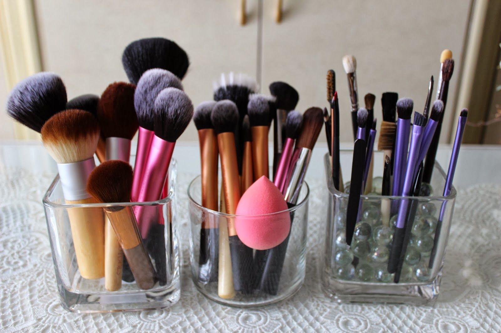 My Makeup Brush Storage and Organization Makeup brush
