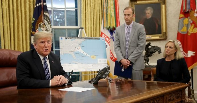 The Administration Transferred Millions Of Dollars Away From Fema And For What To Implement Their Profoundly Misguide Homeland Security Administration Trump