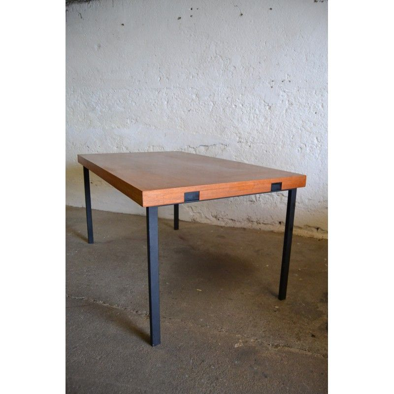 table repas vintage pierre guariche annes 50