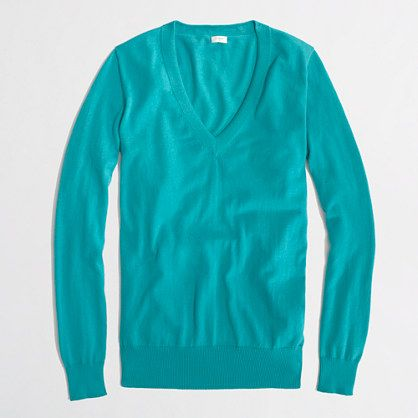 Factory V-neck sweater $24.50