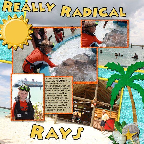 Castaway Cay - Stingray Adventure - MouseScrappers.com