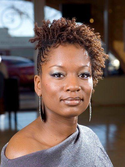 Black Women Natural Hairstyles Coiffure cheveux naturels