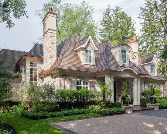 French Country Style Home Country Home Exteriors Cottage