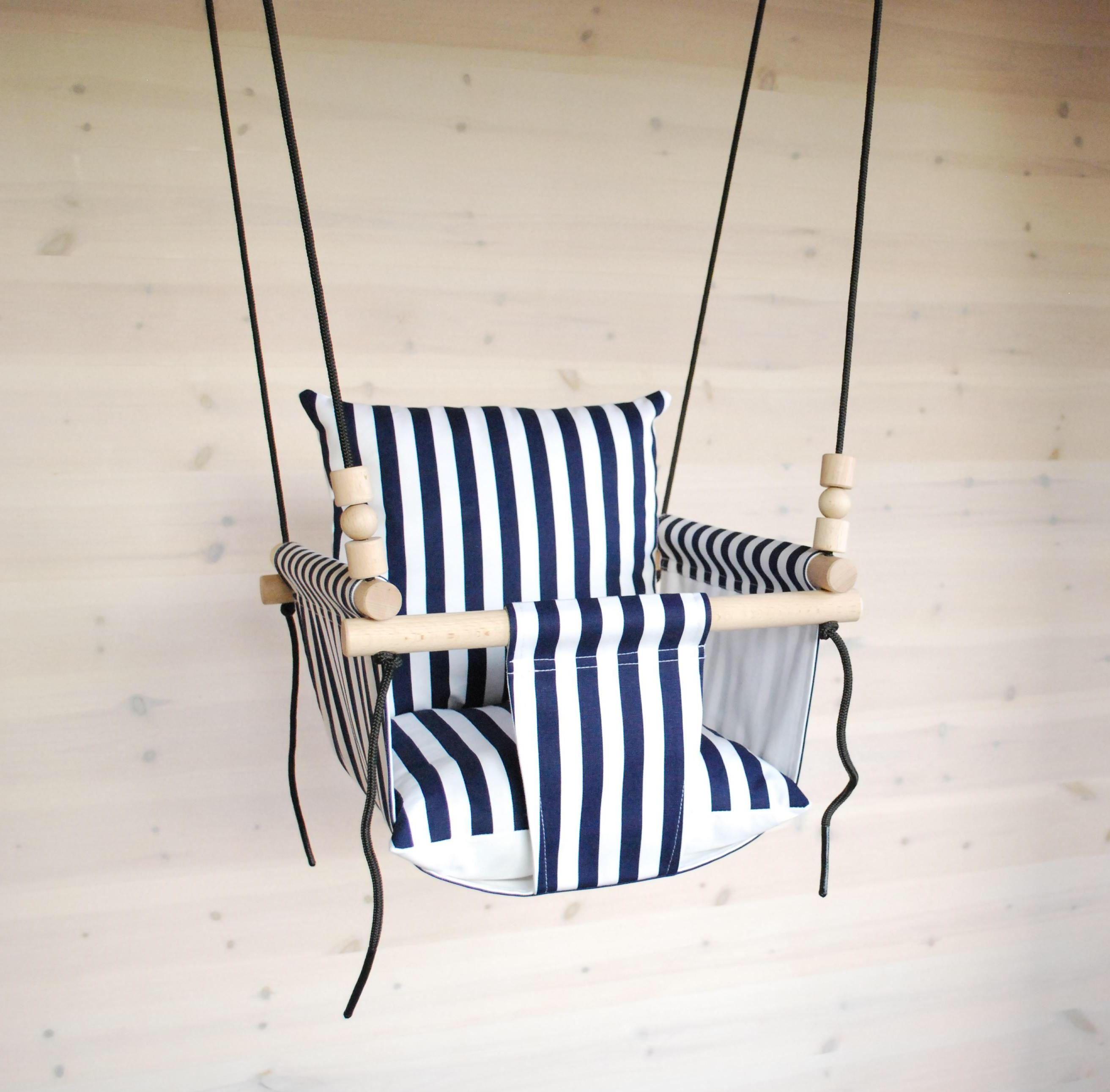 Baby swingships fasttoddler swing navy white