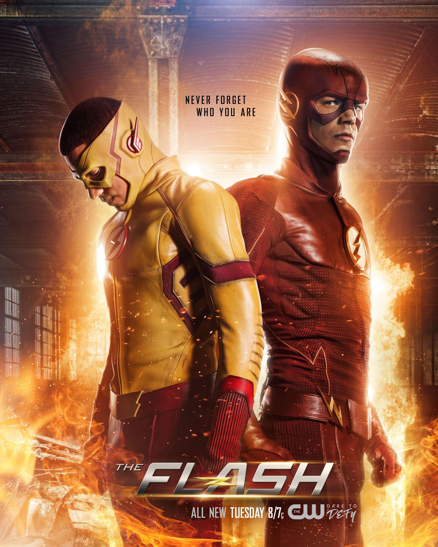 Flash CW Season 4 Poster