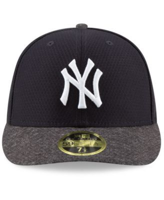 on sale 0b416 00c1a New Era New York Yankees Spring Training 59FIFTY-fitted Low Profile Cap -  Blue 7 3 8