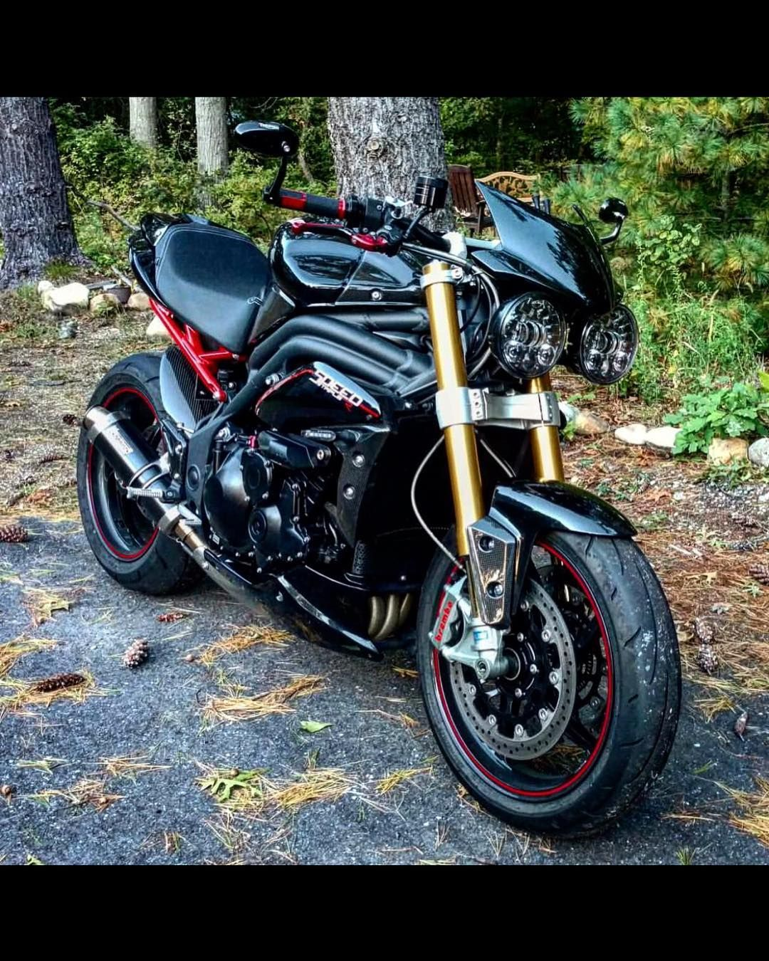 Triumph Speed Triple R Best Road Going Daily Bike Supernaked