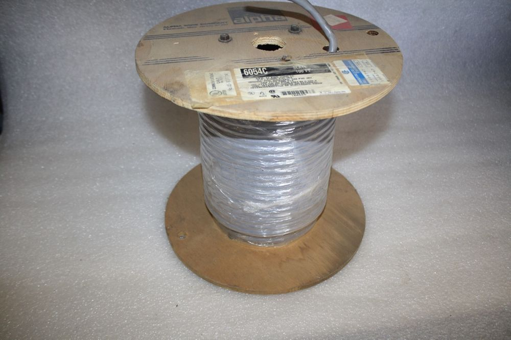 Alpha Wire 6054C Communication-Control-Industrial-Cable ...