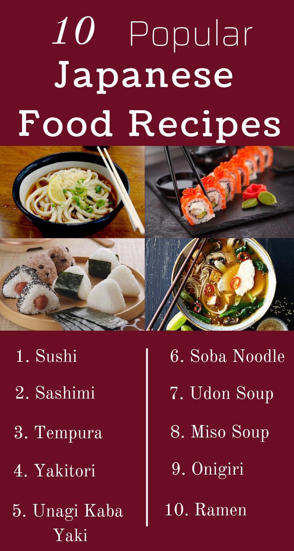 10 Popular Japanese Food Recipes Tastyfix Blog Japanese Food Traditional Food Recipes