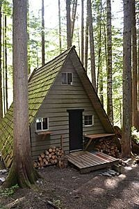 A frame summer house - Google Search