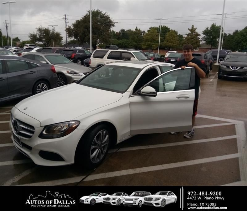 Congratulations Kevin on your MercedesBenz CClass from