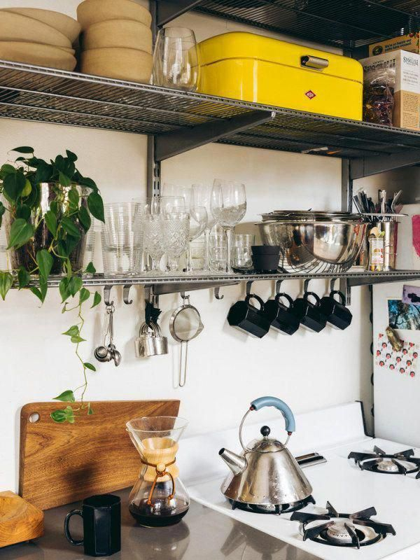 Galley Kitchen Ideas For Small And Narrow Spaces #kitchenorganization #whitegalleykitchens