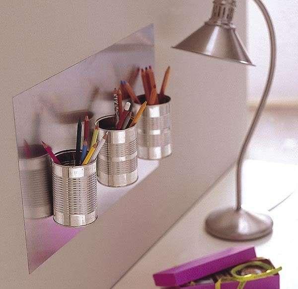 Riciclo creativo ed idee fai da te con le lattine - Portamatite