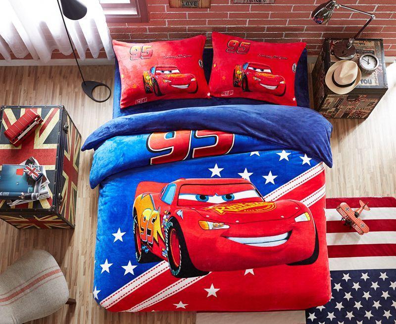 Best Disney Cars Film Themed Kids Bedding Set Twin Queen Size 400 x 300