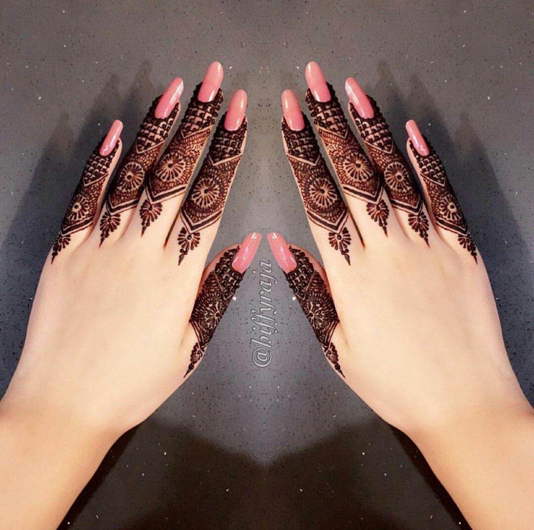 Finger Mehndi Design Easy And Beautiful