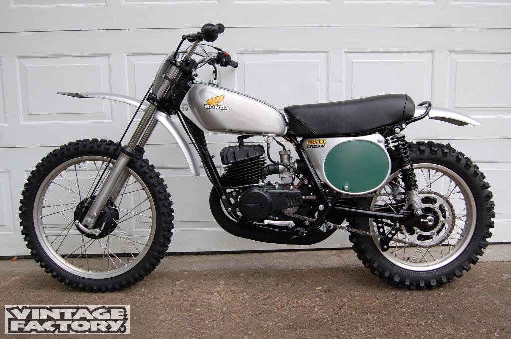 1973 Harley Davidson Xr 750 Motorcycle Cool Daredevil: 1973- Honda CR250M, LH Side