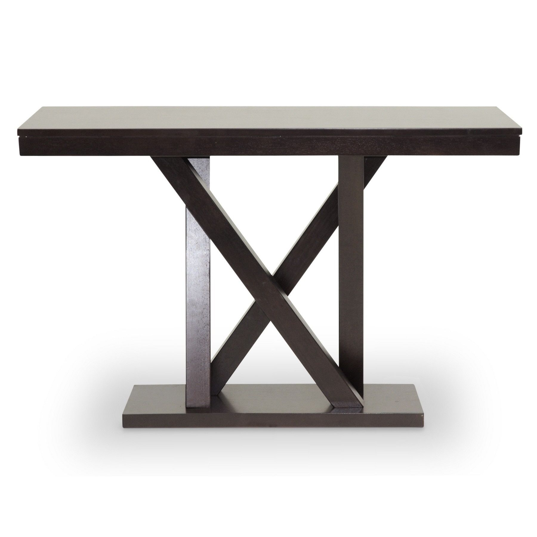 Baxton Studio Everdon Dark Modern Console Table