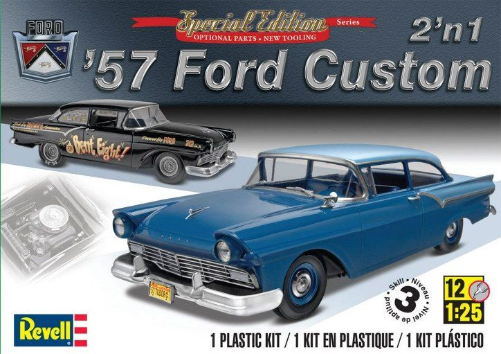 Revell 1957 Ford Custom 2 in 1 Model Kit & Here we have the Revell